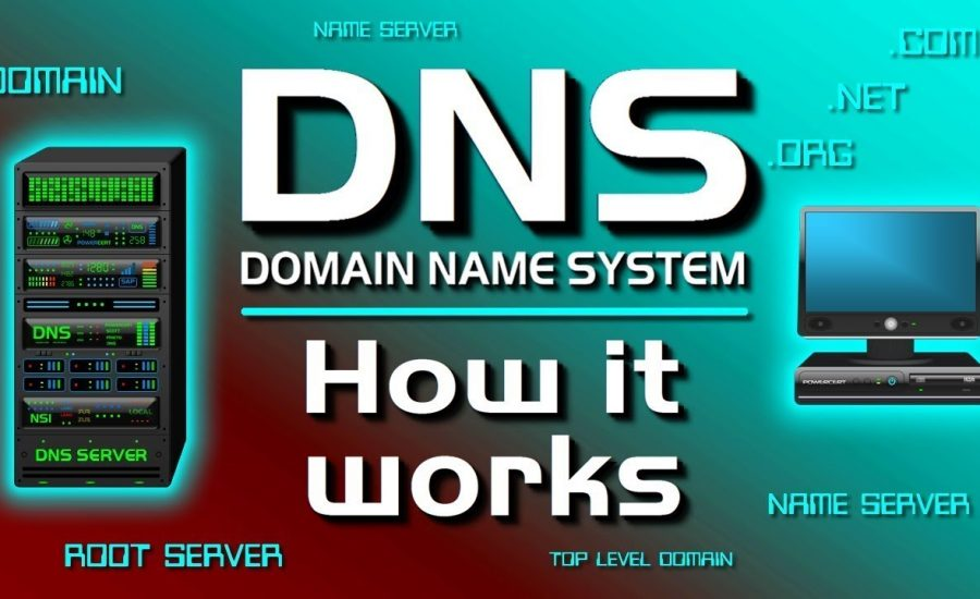 How a Domain Name System Works