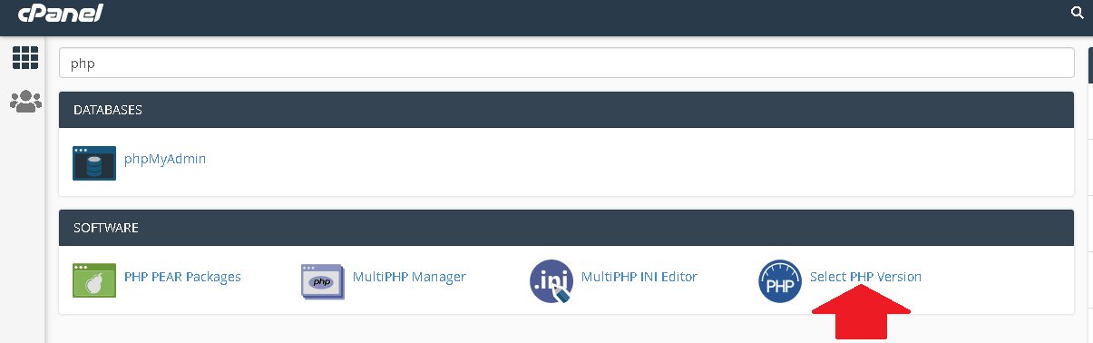 How to update your php version through the Cpanel