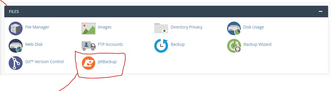 Restore Website Backup on CPanel