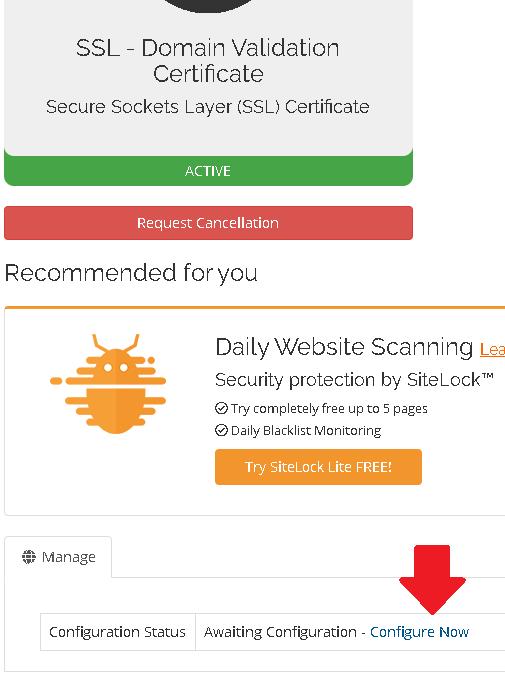 HOW TO CONFIGURE SSL CERTIFICATE