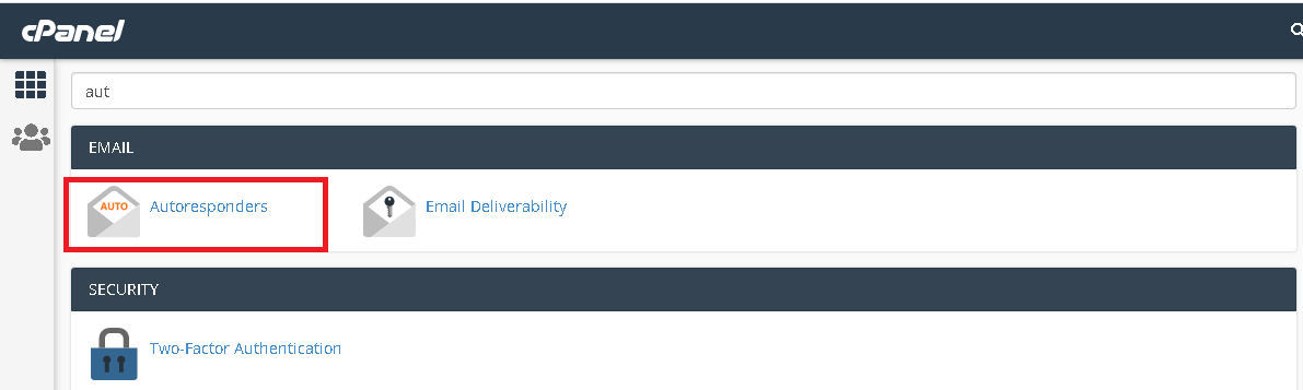How to Setup an Autoresponder in Cpanel