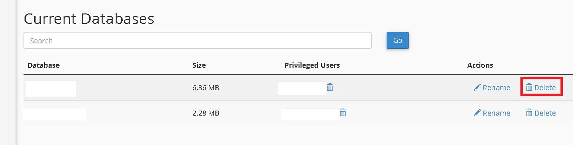 How to Delete MySQL Database User