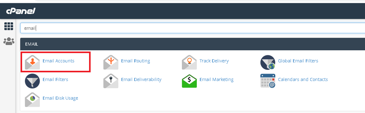 How to Delete an Existing Email Account on the cPanel
