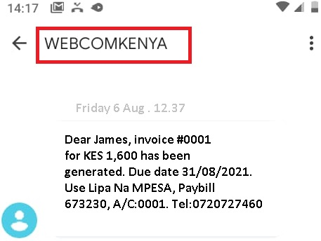 Requirements of Registering Bulk SMS Sender Id